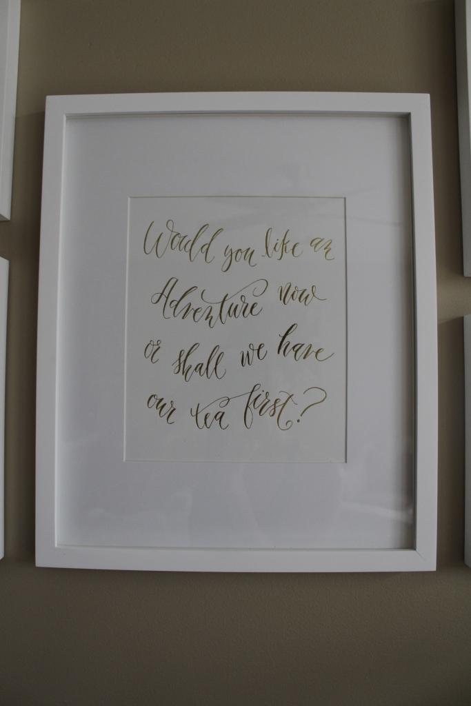 Maison Everett Calligraphy